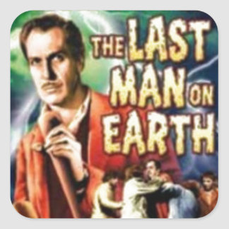 Th Last Man on Earth Square Sticker