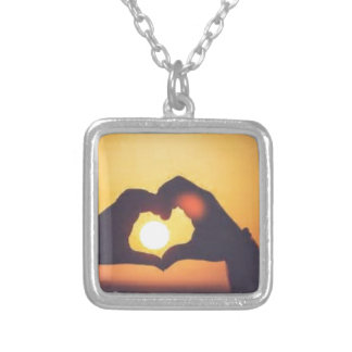 th silver plated necklace