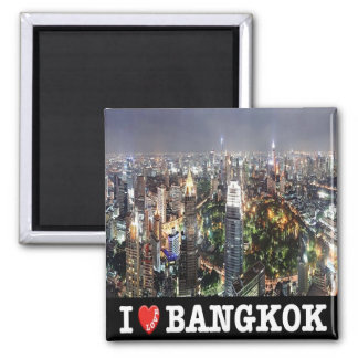 TH - Thailand - Bangkok By Night I Love Magnet