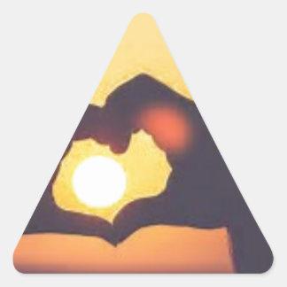 th triangle sticker