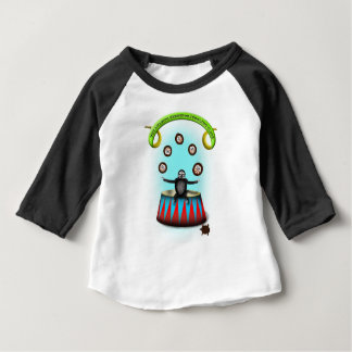 tha amazing hedgehog juggling sloth baby T-Shirt