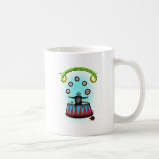 tha amazing hedgehog juggling sloth coffee mug
