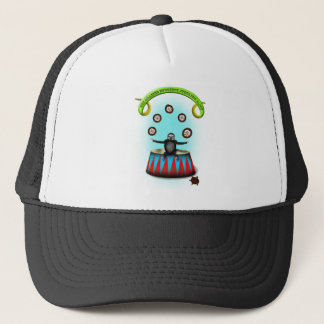tha amazing hedgehog juggling sloth trucker hat