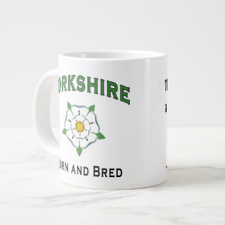 Tha can allus tell a Yorkshireman Large Coffee Mug