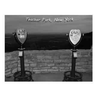 Thacher Park, New York Post Card
