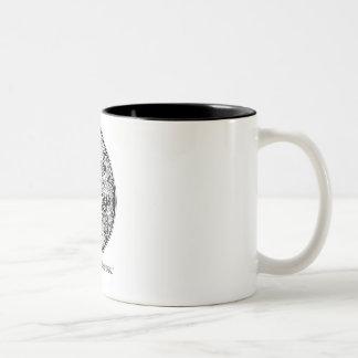 Thai art for Mug2 Two-Tone Coffee Mug