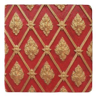 Thai art pattern trivet
