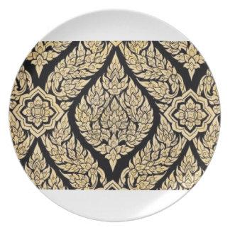 Thai Art plate
