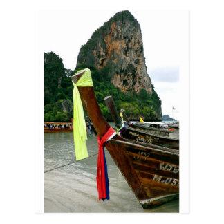 Thai Boats Postcard