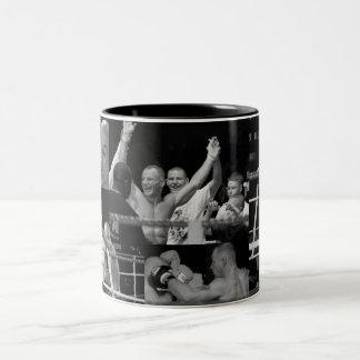 Thai boxing Two-Tone coffee mug