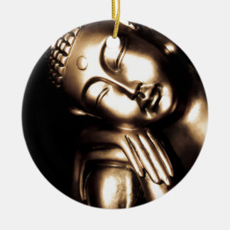 Thai Buddha Wisdom. Ceramic Ornament