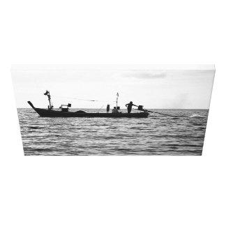 Thai fishing expedition canvas print