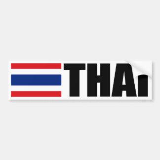 Thai Flag Bumper Sticker