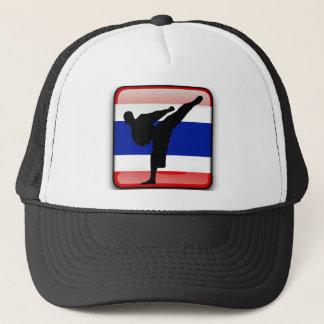 Thai flag trucker hat