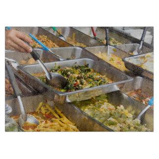 Thai food cutting board