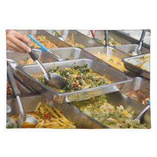 Thai food placemat