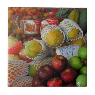 Thai Fruit Tiles