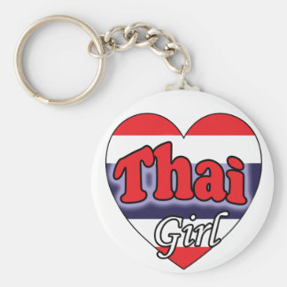 Thai Girl Key Ring