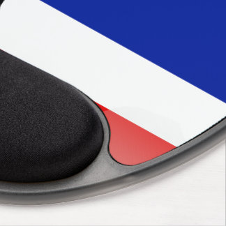 Thai glossy flag gel mouse pad