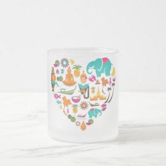 Thai heart mug