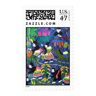 Thai Hilltribe Lifestyle Postage Stamps