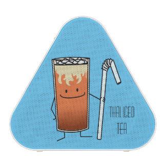 Thai Iced Tea & Bendy Straw - Happy Drink Thailand