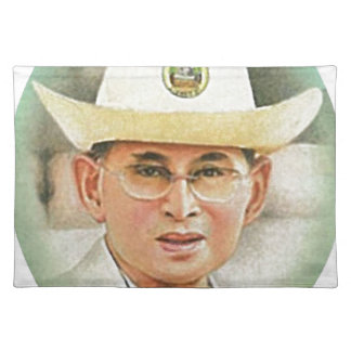 Thai King Bhumibol Adulyadej - ภูมิพลอดุลยเดช Place Mats