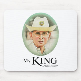 Thai King Bhumibol Adulyadej the Great Mouse Pad