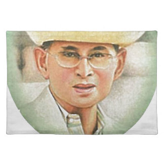 Thai King Bhumibol Adulyadej the Great Placemats