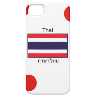 Thai Language And Thailand Flag Design Barely There iPhone 5 Case