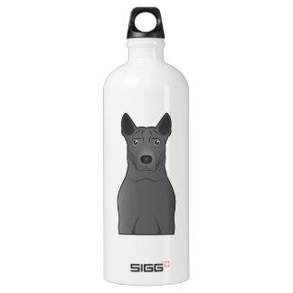 Thai Ridgeback Cartoon SIGG Traveller 1.0L Water Bottle