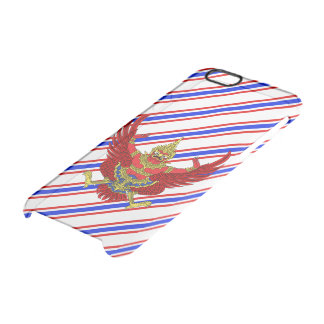 Thai stripes flag clear iPhone 6/6S case