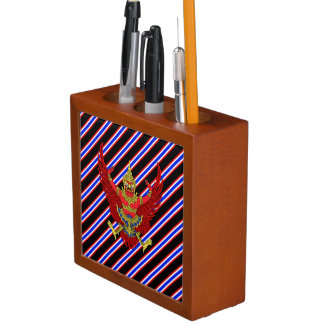 Thai stripes flag desk organiser