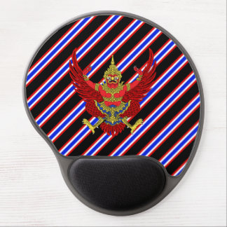 Thai stripes flag gel mouse pad