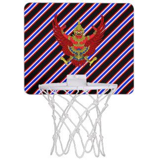 Thai stripes flag mini basketball hoop