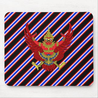 Thai stripes flag mouse pad