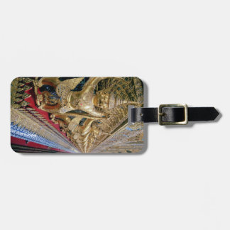 Thai Temple Luggage Tag