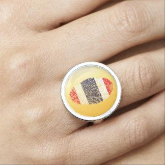 Thai touch fingerprint flag