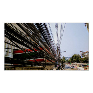 Thai Wires Poster