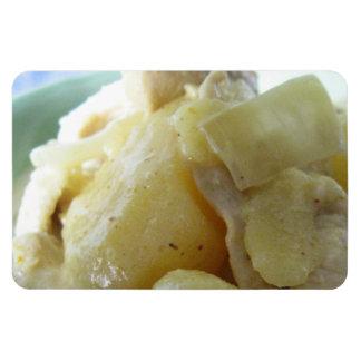 Thai Yellow Curry [แกงกะหรี่] .. Asian Street Food Rectangular Photo Magnet