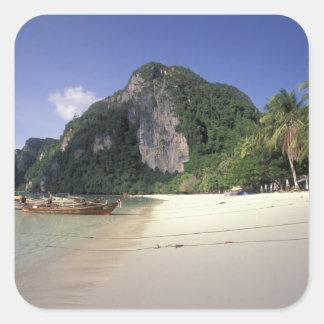 Thailand, Andaman Sea, Ko Phi Phi Island, Beach Sticker