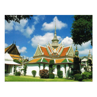 Thailand, Bangkok,  Aroon Temple Postcard