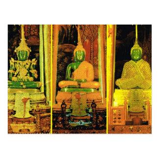 Thailand, Bangkok  Emerald Buddha Postcard