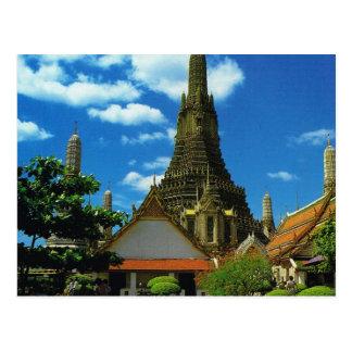 Thailand, Bangkok,  Great Pagoda, Temple of Dawn Postcard