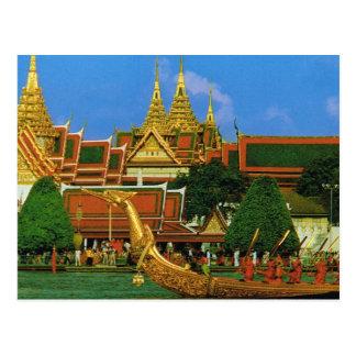Thailand, Bangkok Royal barge Postcard
