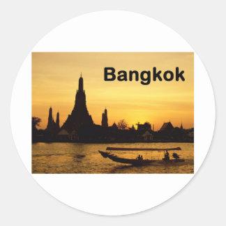 Thailand Bangkok (St.K) Round Sticker
