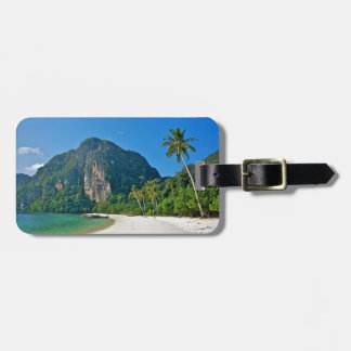 Thailand Beach Luggage Tag