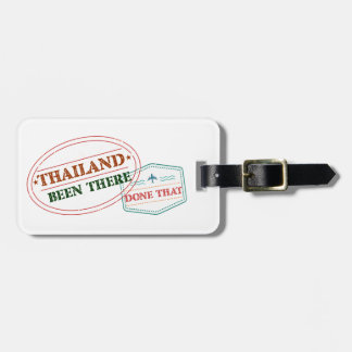Thailand Been There Done That Luggage Tag