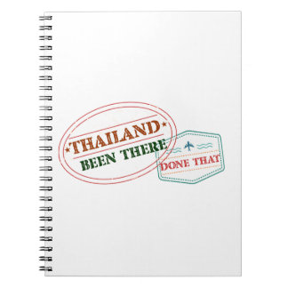 Thailand Been There Done That Notebooks