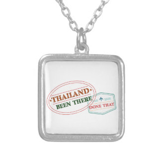 Thailand Been There Done That Silver Plated Necklace